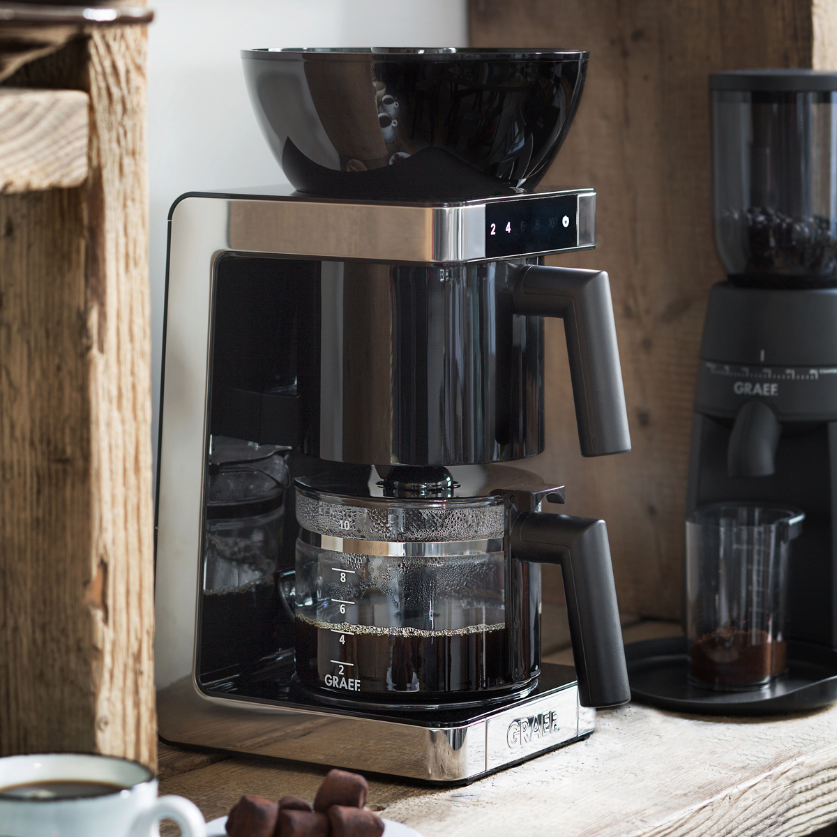 Graef filterkoffieapparaat Första